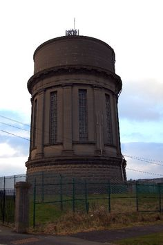 Warbreck Hill Water Tower, Bispham, Nr Blackpool, Lancashire.