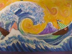 Second grade--Hokusai