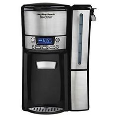 Hamilton Beach 47950 BrewStation 12 Cup Dispensing Coffee Maker with Reservoir Coffee Menu, Coffee Type, Great Coffee, Coffee Drinks, Coffee Ideas, Coffee Cozy, Hot Coffee, Winter Coffee, Happy Coffee
