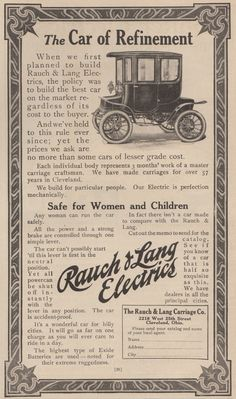 Pin By Vogel Marketing Solutions Llc On Detroit Electric Car Ads