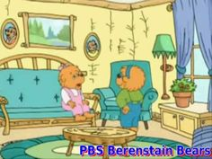 The Berenstain Bears Visit the Dentist (2 part video) resource for dental health month