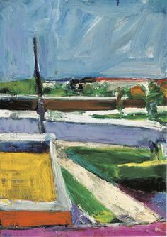 Untitled (Landscape) by Richard Diebenkorn, 1957