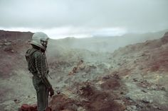 When we spotted Polish photographer Dominik Smialowski's gorgeous series The Pilot's Melancholy over at Faith is Torment, we had to stop to catch our breath. Smialowski's landscapes, all rock and water and what looks like lava fields, would be… Kaidan Alenko, Pilot, Destin, Modern Metropolis, Conceptual Photography, Mass Effect, Weird World, Melancholy, Far Away