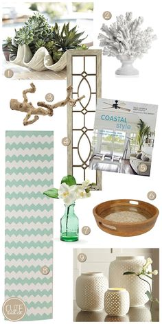 beach interior design, coastal interior design, beachy accessories, home accessories, how to accessorize, home decor,#eclectic #beach