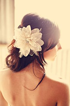 Sweet floral for hair
