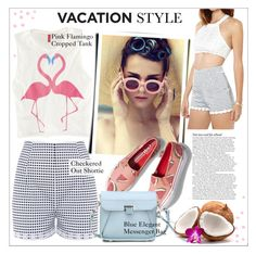 """Vacation Getaway"" by genuine-people ❤ liked on Polyvore featuring moda, ASOS y Keds"