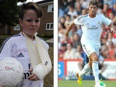 Cristiano Ronaldo i ka thyer dorën një djaloshi 11-vjeçar gjatë ndeshjes miqësore që Real Madrid zhvilloi ndaj Bournemouth dhe që e fitoi me rezultatin e thellë 6-0.  http://www.top-channel.tv/artikull.php?id=261086