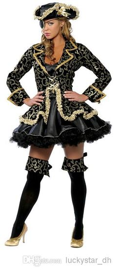 Image result for sexy pirate dress