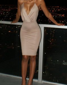 SEXY BACKLESS CUTE DRESS