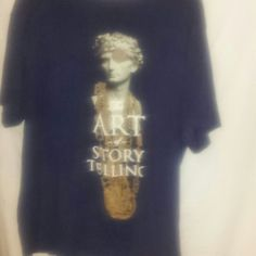 Rocawear XXL navy blue mens short sleeve tshirt It is all cotton navy blue and says the art of story telling on front and plain on back good condition Rocawear Tops Tees - Short Sleeve