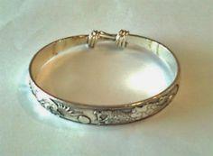 Tibetan Silver Mens Bracelet