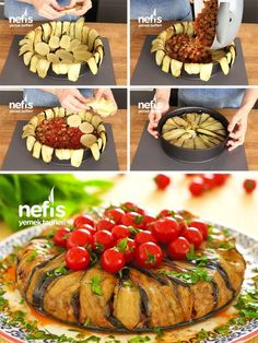 - Sehr populäres Auberginen-Rezept-Rezept Very Popular Eggplant Recipes Recipe – recipe recipe # popular Yummy Recipes, Best Dinner Recipes, Popular Recipes, Cooking Recipes, Healthy Recipes, Homemade Hamburgers, Good Food, Yummy Food, Ramadan Recipes