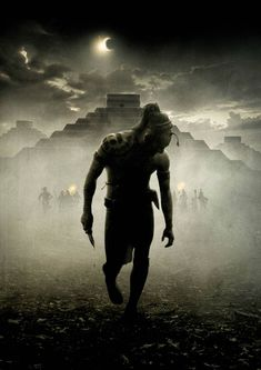 Textless Movie Posters – An awesome collection of movie posters without the texts (Apocalypto)