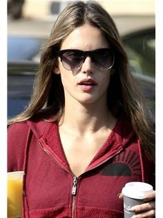 Wildfox Sun Clubfox Sunglasses in Black and Gold as Seen On Alessandra Ambrosio