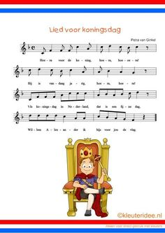 Song for King's day Valentines Day Bulletin Board, Kings Day, Blond Amsterdam, Jaba, A Blessing, School Days, Netherlands, Holland, Preschool