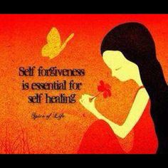 You have to forgive yourself for allowing that person to have power over you. More power than you allow God to have  #self #healing #self #forgiveness #namaste #peace  #clearing #bag #lady #confessions  bibleversememes.com