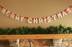 A collection of 24 Christmas DIY garlands
