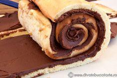 tort-spirala-cu-crema-de-ciocolata-ganache-4 Hot Dog Buns, Hot Dogs, Bread, Brot, Baking, Breads, Buns
