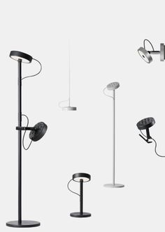 U-TURN Desk-mounted luminaires | BELUX