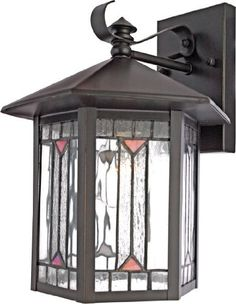 Quoizel CL8427Z Chaparral 12-Inch x 9-Inch 1 Light Outdoor Wall Fixture, Medici Bronze by Quoizel