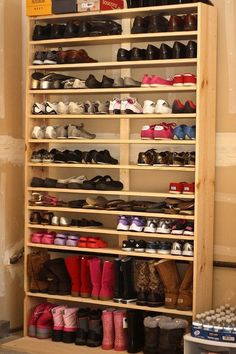 Good Simple Homemade Shoe Rack Guide That You Can Make Yourself
