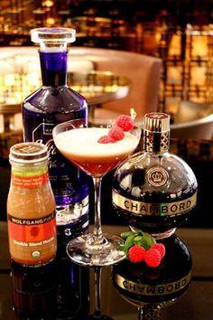 Wolfgang Puck's Red Velvet Martini