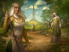 Magic: the Gathering Origins Artwork