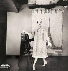 Barbara Mullen in Christian Dior, photo by Louise Dahl-Wolfe, Harper's Bazaar, April 1956