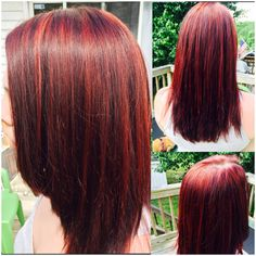 60 auburn hair colors to emphasize your individuality orange dark auburn hair with bright red highlights hairbykayla pmusecretfo Choice Image