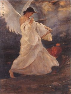 ''Glory of Psara '' c. 1898 by Nikolaos Gyzis Greek Paintings, Art Paintings, Social Art, Pre Raphaelite, Greek Art, Chiaroscuro, Art Graphique, Illustrations, Artist Art