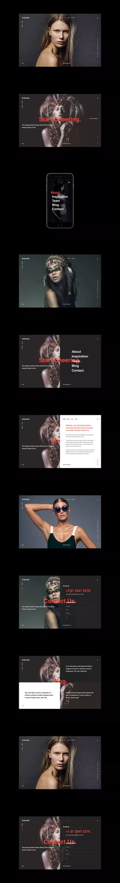 Umbrella – Photography Website HTML Template