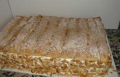 Bolo de amendoa e massa folhada - Mytaste.pt
