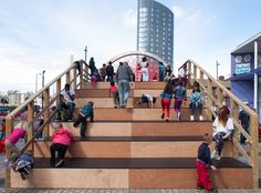 THE BIG SLIDE The Big Slide was a temporary structure built as the centrepiece for the Stratford Rising Festival 2013. Responding to the festival's theme of 'Play', Assemble designed and built a gi...