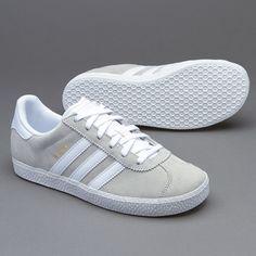 Adidas Gazelle Junior Light Grey Off White Trainer Sale