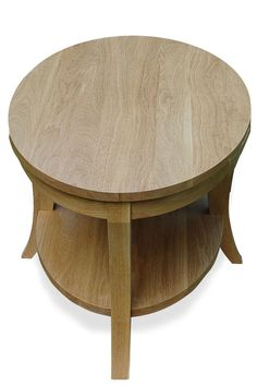 Table Travels Elliptical Orbit  White Oak Coffee by craftsmanslife, $1600.00