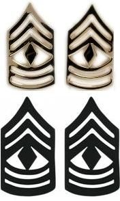 First Sergeant US Army Rank $4.6