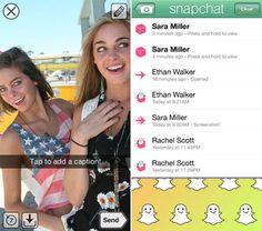 Make fun as Social Photo Captions using iPhone5 – Snapchat iOS App