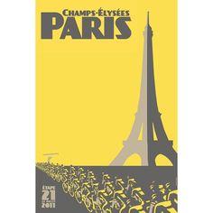 Tour de France Daily Poster 2011 on Behance