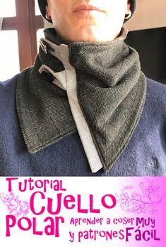 Cuello Polar   Buff Elegante y muy fácil de hacer. Tutorial paso a paso. ebd49906028