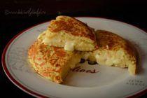 Placinta de cartofi cu cascaval French Toast, Breakfast, Food, Fine Dining, Morning Coffee, Eten, Meals, Morning Breakfast, Diet
