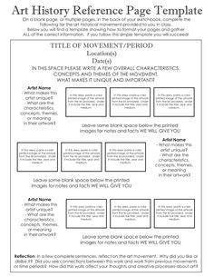 Printables Art History Worksheets beautiful art history timeline poster that fits on a door it even new sketchbook template