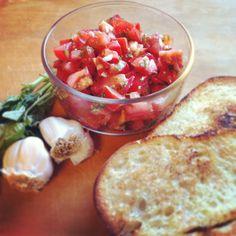 Olive Garden's bruschetta recipe <3 TLS