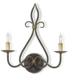 Discount Iron Wall Sconces  Iron Wall Sconces Wrought Iron Wall Alluring Candle Wall Sconces For Dining Room Design Decoration