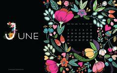 June Free Desktop Wallpaper Calendar June Desktop Wallpaper Calendar 01 700x437