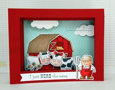 Create amazing 3-dimensional scenes with a multi-layer shadow box card. The technique demonstrated here is quick, easy and sure to impress.
