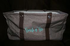 Grab-n-Go with this Large Utility Tote from Thirty-One Large Utility Tote, Thirty One Consultant, Thirty One Gifts, Diaper Bag, Passion, Bags, Ideas, Products, Handbags