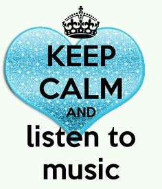 When it comes to MY music... I CAN'T KEEP CALM<3