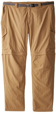 Columbia Sportswear Men's Big and Tall Silver Ridge Convertible Pant, Delta, 48 x 32-Inch * Check out this great product.