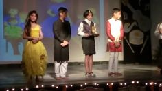 DAV School catwalk show of English skit by Discovery of Rajasthan Learn Hindi, 5th Class, Jaipur India, Discovery, Catwalk, Stage, English, Culture, Concert