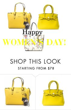 """Happy Women's day!"" by scaglionegroup on Polyvore featuring moda, GUESS e Save My Bag"